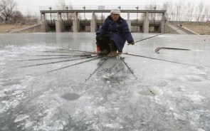Professional Ice Fisher