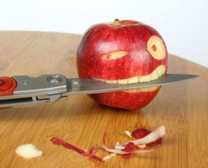 Apple Bites Knife