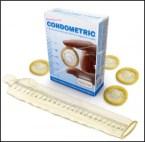 Condometric Condom Measuring Tape