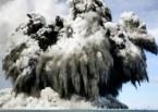 Undersea eruptions near Tonga