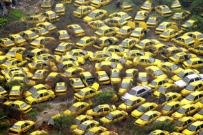 Taxi Grave Yard
