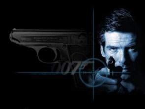 007 – bond and gun