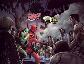 Deadpool vs Zombies