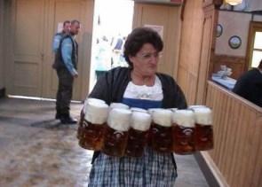 impressive beer holder