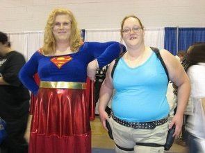 overweight cosplayers
