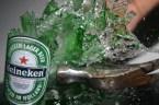 Smashing Heineken Lager Beer