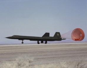 SR-71 Chute Deployment