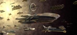 battlestar galactica fleet