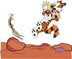 Calvin And Hobbes vs Alien