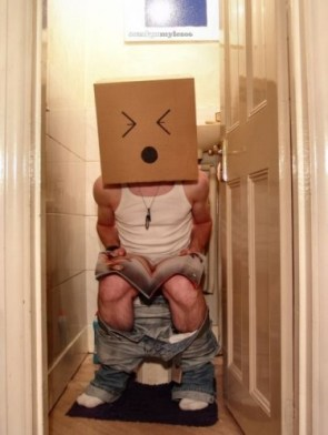 Constipated Box Head