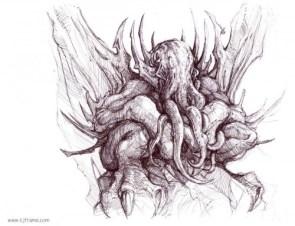 cthulu sketch