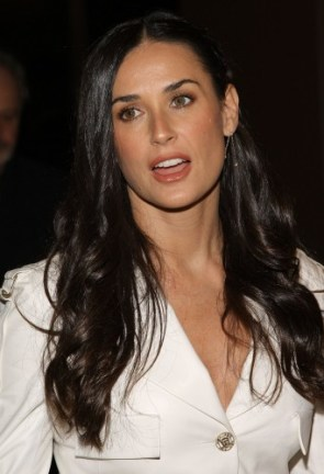 Demi Moore Flawless screening in New York City