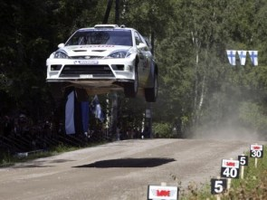 flying rally car