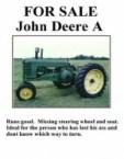 for sale – john deere