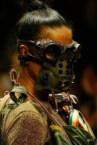 Gas Mask Beauty