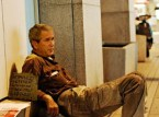 George W Bush – Homeless veteren looking for work