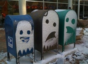 Ghost Mail Boxes