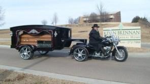 Harley Casket Carrier