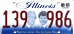 Illinois – where our governors make our license plates