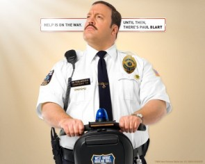 Kevin James in Paul Blart – Mall Cop