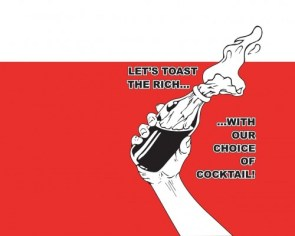 lets toast the rich with our choice of cocktail