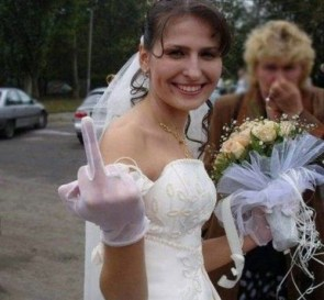 marriage – middle finger