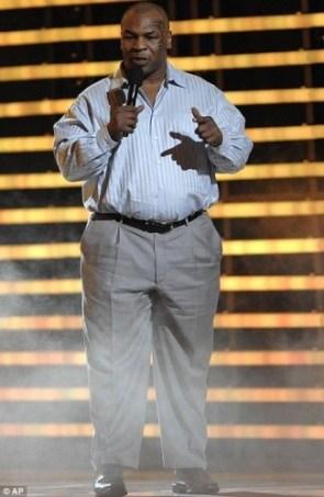 Mike Tyson Got Big