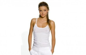 Miranda Kerr – see through shirt