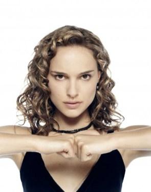 Natalie Portman Fist Bumps Herself