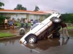 Truck Vs Sink Hole
