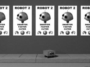 Robot 2 – smarter faster cuter
