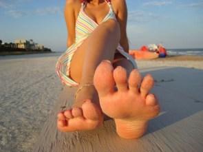 Sandy Sexy Feet