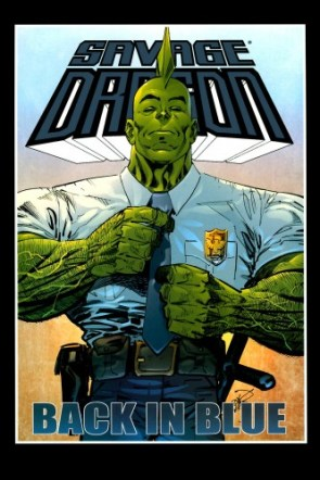 Savage Dragon 145 – Back In blue