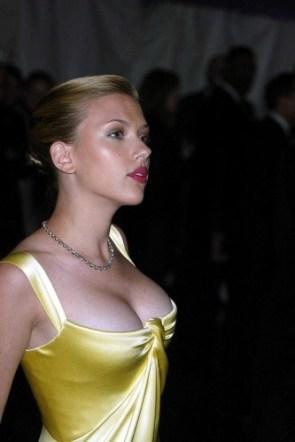 Scarlett Johansson – yellow dress