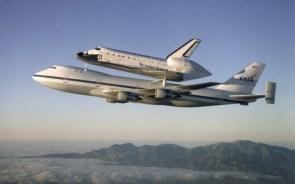 Shuttle On Jet
