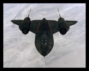 SR-71 In Flight