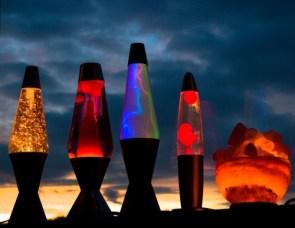 Sunset Lava Lamps
