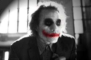 The Joker – Black and White
