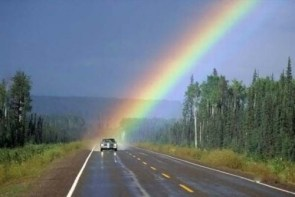 Vehical Rainbow Ending