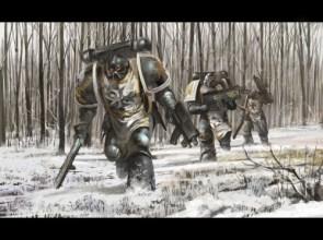 warhammer 40k – forest patrol