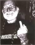 willie nelson – middle finger