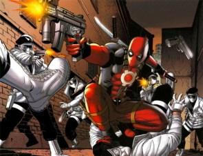 Deadpool vs Men In White