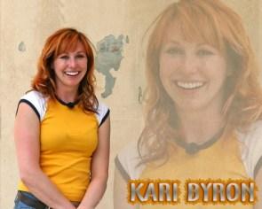 kari byron – yellow and white