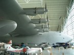 Spruce Goose righthand wing with engines