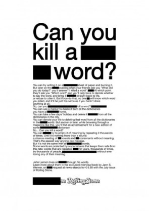 Can You Kill a Word?