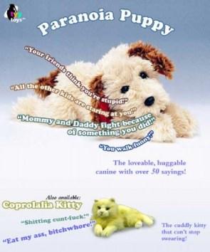 Paranoia Puppy