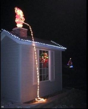 Santa Piss Lights
