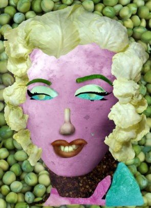 Famous Paintings Redone with Vegetables