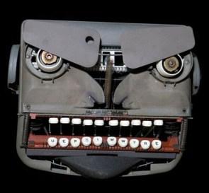 angry typwriter