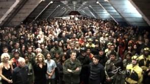 battlestar crew – hanger meeting